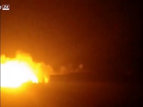 Raw: Airstrikes Hit Aid Convoy in Syria
