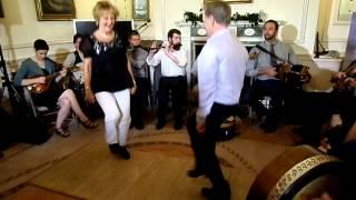 Kevin Doyle and his sister Maureen perform at the Irish Embassy in Washington