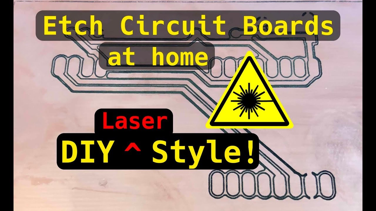 making circuit boards with a laser cutter