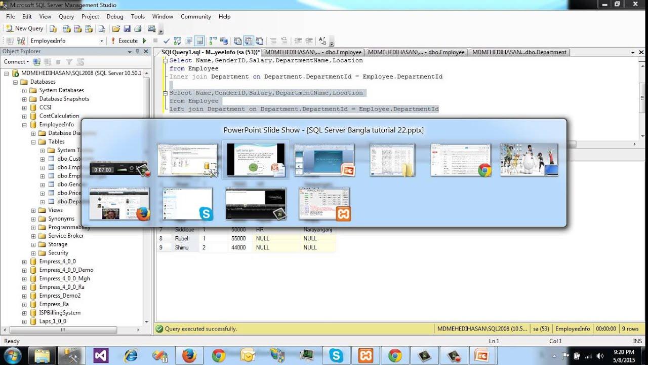 Sql server bangla tutorial 22 joins in sqlleft right inner sql server bangla tutorial 22 joins in sqlleft right inner full cross baditri Images