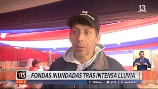 Extienden fondas por lluvia en Valparaíso