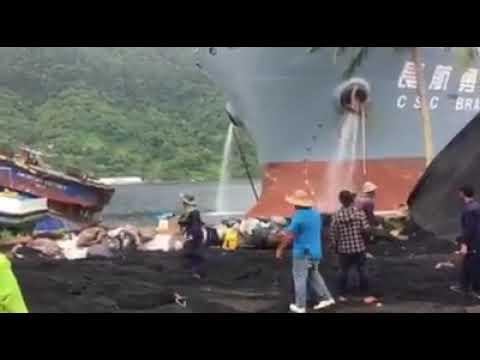 Ship collision american samoa