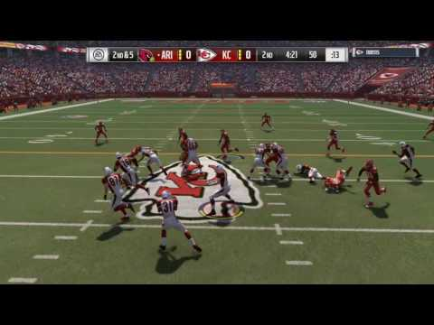 MADDEN 17 | ALEX SMITH IS ON THE LOOSE! | ONLINE RANKED MATCH | CARDINALS VS CHIEFS