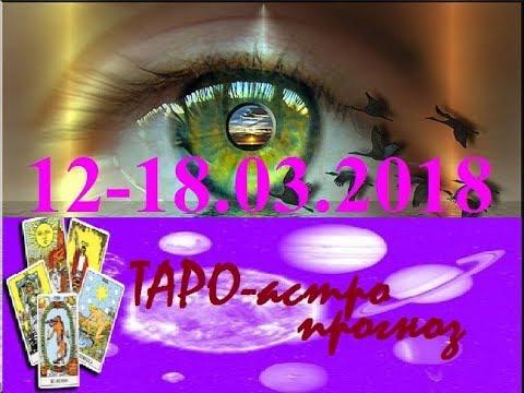 ТЕЛЕЦ . ТАРО-астро прогноз на 12-18.03.2018. Новолуние.Tarot.