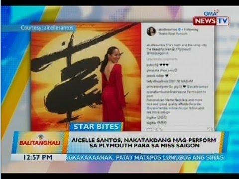 Aicelle Santos, nakatakdang mag-perform sa Plymouth para sa Miss Saigon