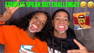 SPEAK OUT CHALLENGE: COUPLES EDITION!! | TRY NOT TO LAUGH!!