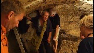 Visite de sites souterrains à Bazas (Gironde)