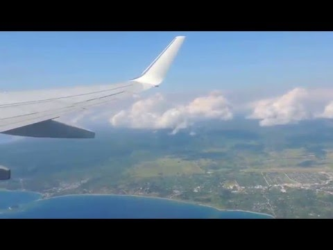 Flying off from Port Vila