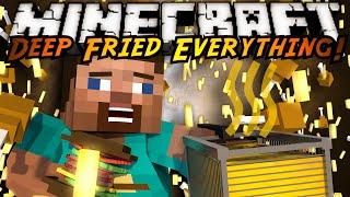 Minecraft Mod Showcase : DEEP FRIED EVERYTHING MOD!