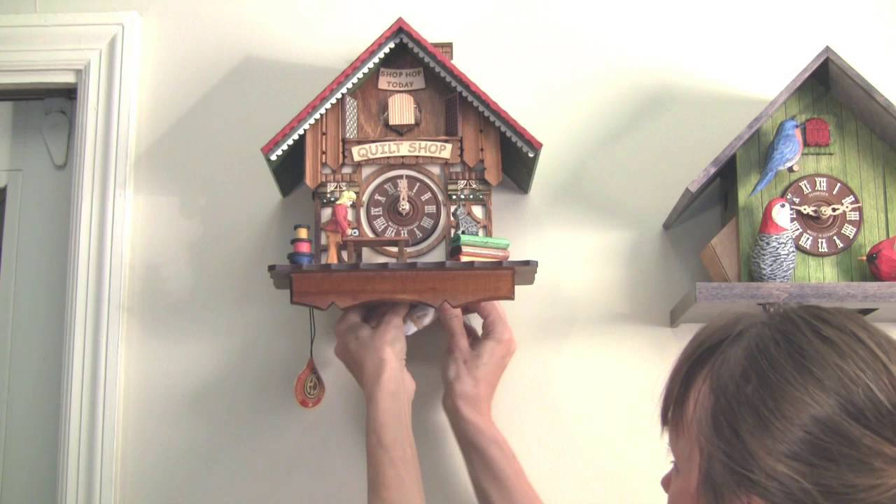 How To Set Up Your Cuckoo Clock Youtube