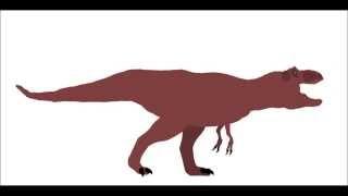 PPBA Giganotosaurus vs Tyrannosaurus remake
