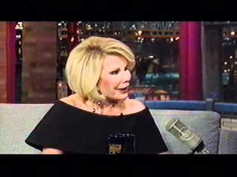 Joan Rivers The David Letterman Show 2011