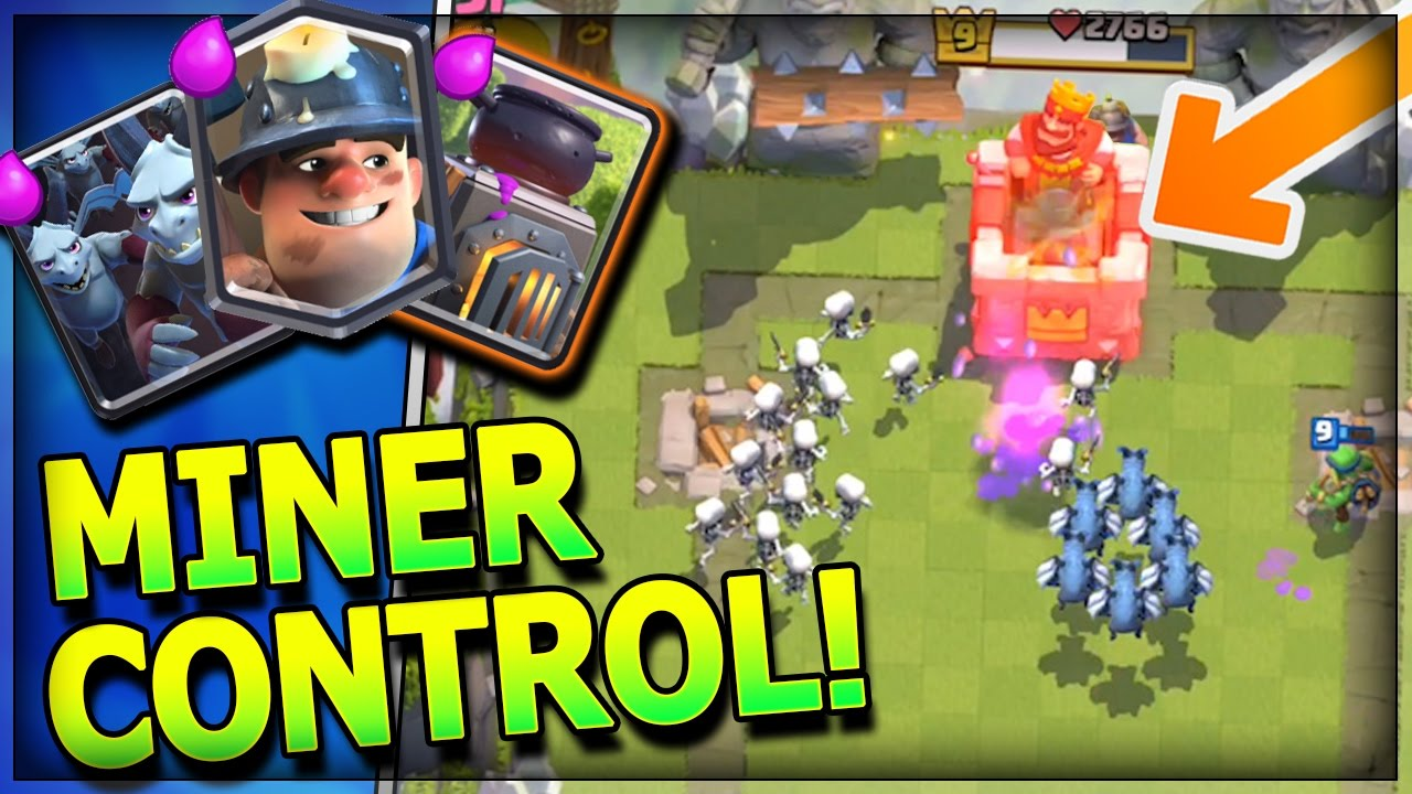 Updated Miner Control Deck Miner Only Legendary Deck
