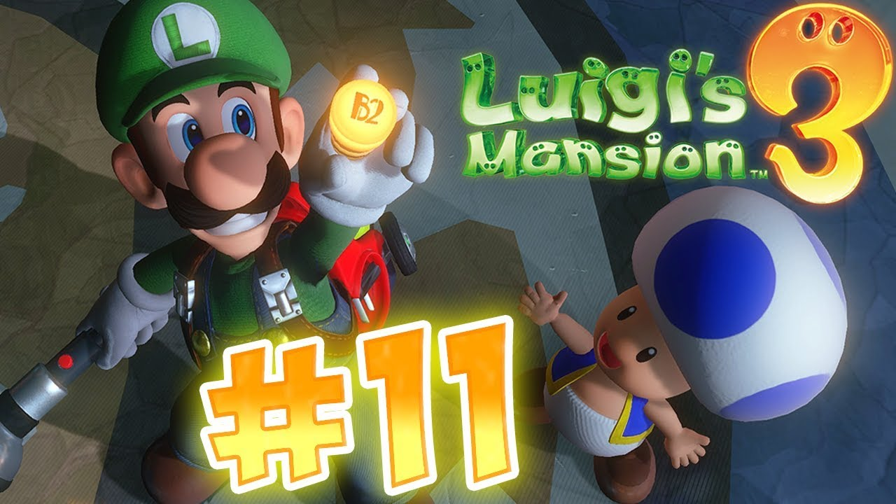 Download Luigi's Mansion 3 Gameplay !! Walkthrough # 11 Unnatural History Museum 9F & Blue Toad !? ᴴᴰ