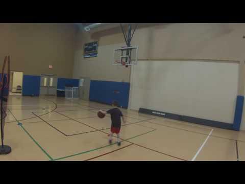 7 year old Nick from CBAA Doylestown Basketball training with Jay Joseph