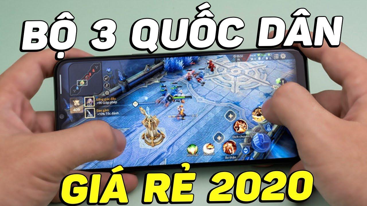 Bộ 3 smartphone QUỐC DÂN phân khúc giá siêu rẻ 2020 do mình bầu chọn!!!