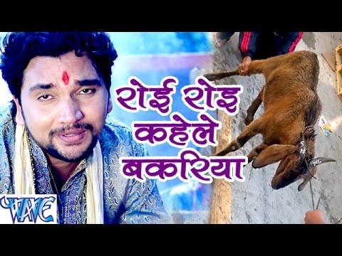 रोइ रोइ कहेले बकरिया - Maiya Ji Ankh Kholi - Gunjan Singh - Bhojpuri Devi Geet 2016 New