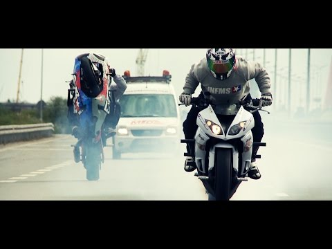 The Infamous Team Trojmiasto 2014 (Official Clip) HQ - The Glitch Mob - Skytoucher HD Motobike