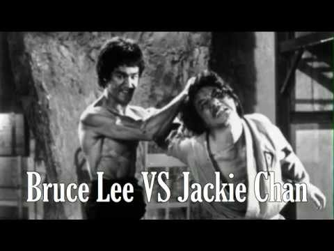 bruce lee vs jackie chan and jackie chan in bruce lee s movie youtube