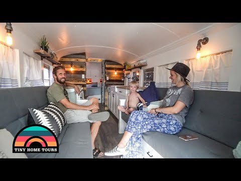 Gorgeous Skoolie Built For Full Time Family Adventures ~ Tons Of Great Build Ideas!