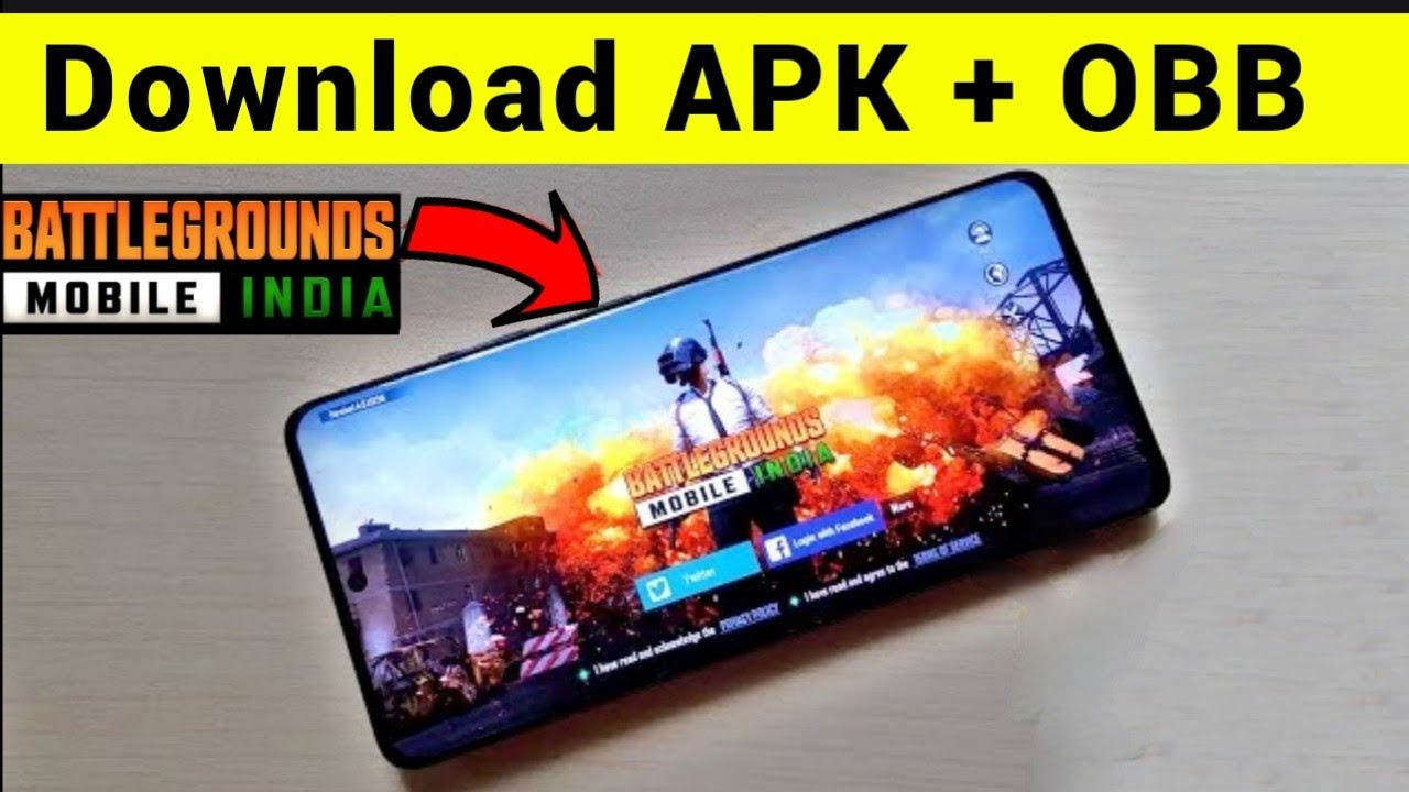 BATTLEGROUND MOBILE INDIA  APK + OBB DOWNLOAD LINK 😍😍 -  How to install BGMI