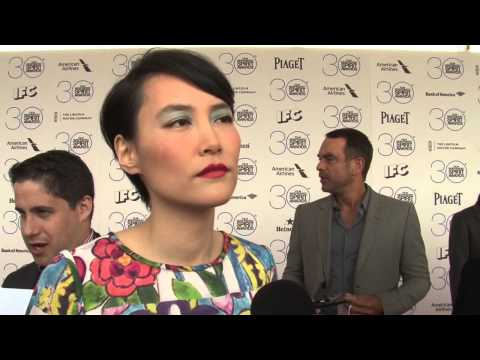 Independent Spirit Awards: Rinko Kikuchi Exclusive Carpet Interview 2015