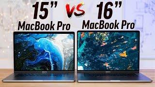 """15"""" vs 16"""" 2019 MacBook Pro - Full Comparison!"""