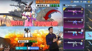 Finally I Transfer My Old Pubg Mobile Data To New BATTLEGROUND MOBILE INDIA (BGMI) Early Access