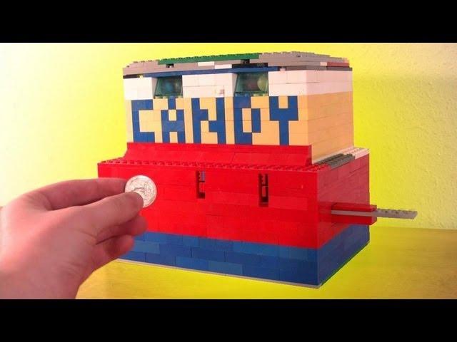 A Lego Candy Machine Youtube