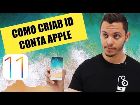 ATUALIZADO 2018 | Criar Conta ID App Store Sem Cartão de Crédito iPhone 8, iPhone X, iOs 11
