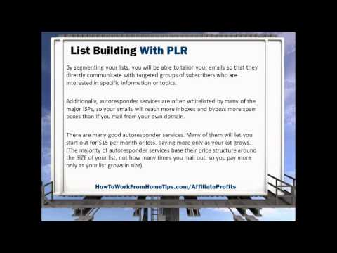 How To Earn Online Money With PLR Content
