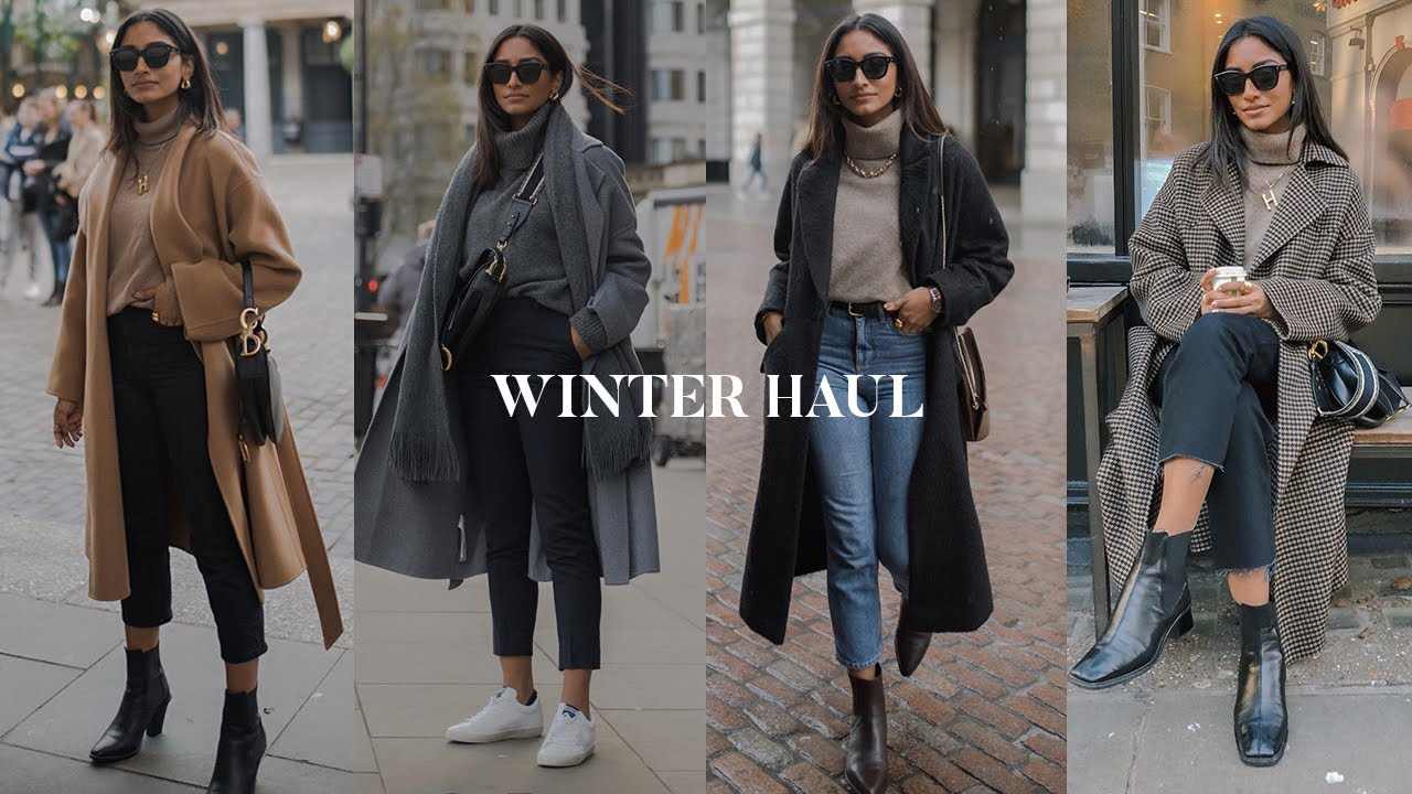 [VIDEO] - WINTER HAUL | ZARA, TOPSHOP, & OTHER STORIES, ARKET LOOKBOOK 3