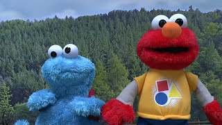 learn colors with sesame street rockin elmo toy cookie monster thomas friends colours song kids