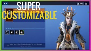 NEUE ANPASSUNG! ICE QUEEN SKIN KEHRT ZURÜCK! (Staffel 7) Fortnite Item Shop - Fortnite Battle Royale