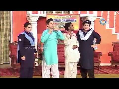 Abid Charlie And Nadeem Chitta - New Pakistani Stage Drama -Full Comedy Clip