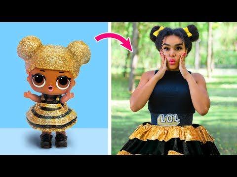 LOL Surprise Puppen Die Lebendig Wurden: 10 LOL Surprise Haarstyle Und Klamotten Ideen