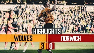 DIOGO JOTA CAN'T STOP SCORING! Wolves 3-0 Norwich City | Highlights