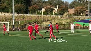 FLEQ EPIC Goal on Free Kick Slow Mo RAS Sports