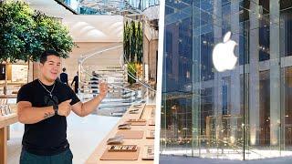 Gambar cover Así es la Apple Store Más Grande del Mundo en Nueva York