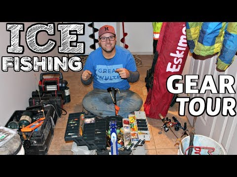 My ICE FISHING Gear 2018 Hard Water Season