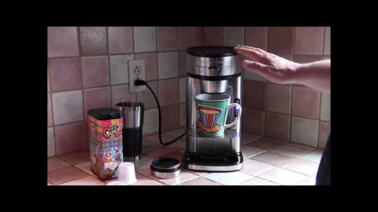 Hamilton Beach The Scoop Single Serve Brewer Youtube