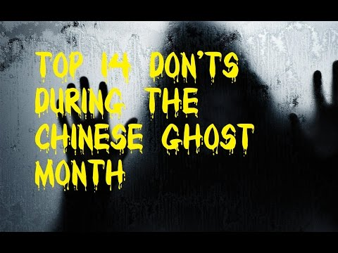 Top 14 Don'ts During the Chinese Ghost Month