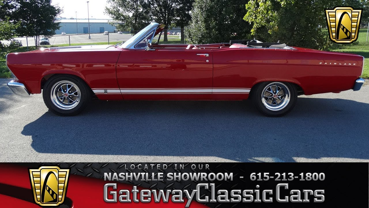 1966 ford fairlane gta gateway classic cars nashville 581