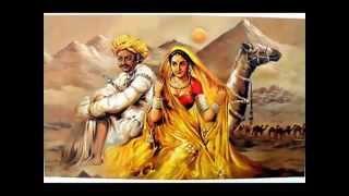 CHAUDHARY - Rajasthani romantic folk song with lyrics - Mame Khan, Amit Trivedi