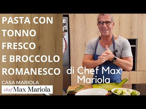 PASTA TONNO FRESCO E BROCCOLO ROMANESCO - Chef Max Mariola