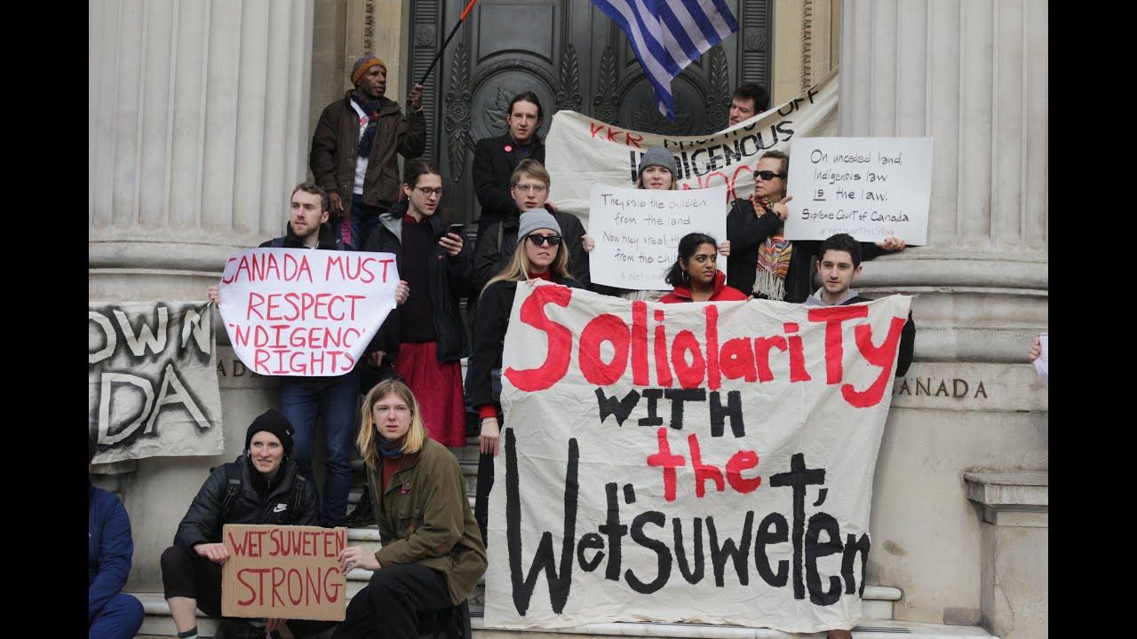 In Solidarity with Wet'suwet'en