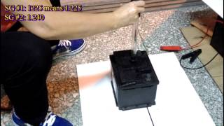 Gambar cover Demonstration for Regenerating a Dead Lead Acid Battery