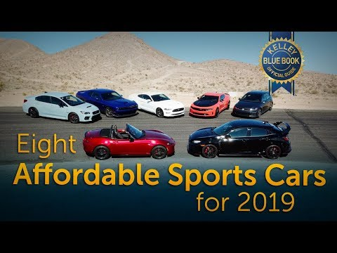 Eight Affordable Sports Cars for 2019
