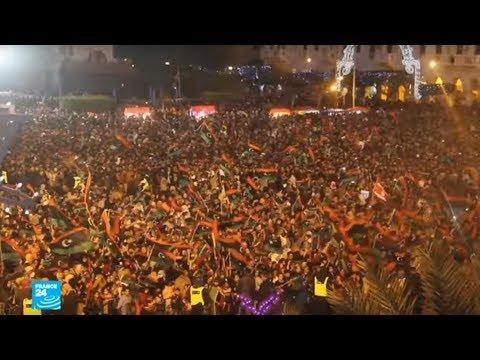 آلاف الليبيين يحيون الذكرى السابعة لثورتهم  - نشر قبل 1 ساعة