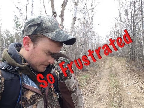 Nature Photography Fail. Spooking Deer. High Winds